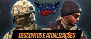 Descontos e atualizações no Wolf Team Reboot