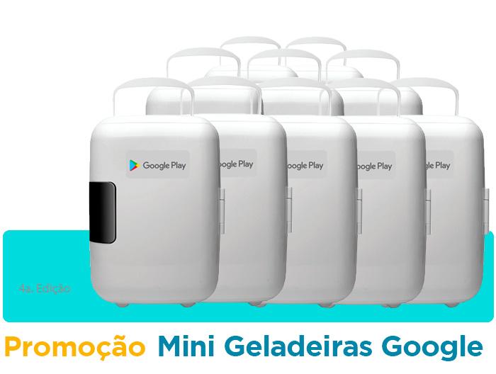 Google Play Mini geladeiras
