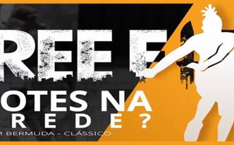 Free Fire - Emote dançante nas paredes